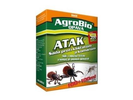 Atak- sada proti klíšťatům 100+100 ml