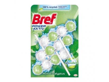 Bref ProNature Mint WC kuličky, 3 × 50 g