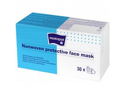 Ochranná obličejová rouška 3 vrstvá, výroba EU, 30 ks, Mesaverde