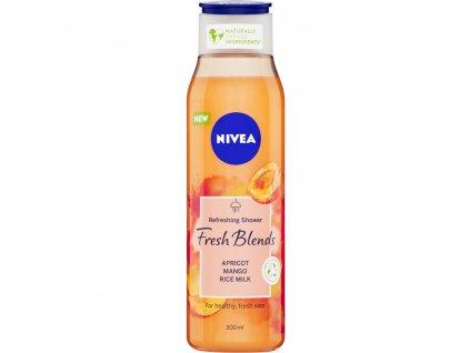 Nivea Fresh Blends Apricot sprchový gel, 300 ml