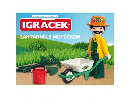 Bravo Igráček zahradník s motúčkem