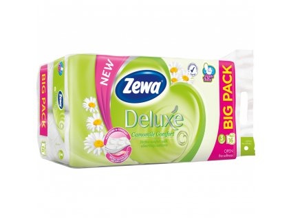 Zewa Deluxe Camomile Comfort 3vrstvý toaletní papír, 16 rolí