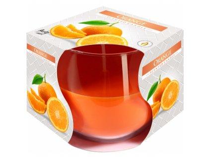 Svíčka vonná ve skle pomeranč  100 g