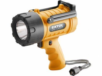 Extol Light Svítilna 300lm CREE XPG LED, vodotěsná, 5W