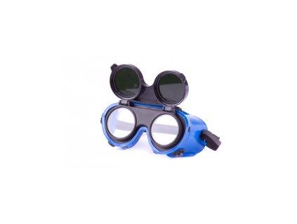 Brýle svářečské 2 zorníky