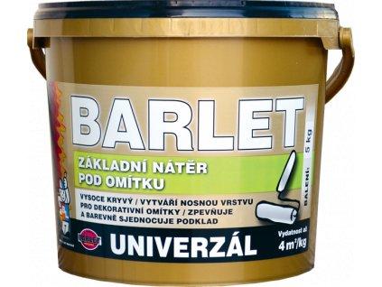 BARLET základní nátěr pod dekorativní omítku 5 kg