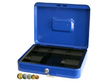 Pokladna CashBox, 300x230x75 mm, na peníze