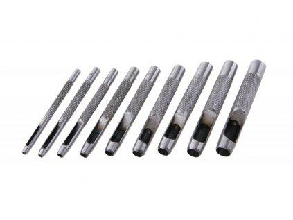Děrovače 2.5-10mm, 9ks