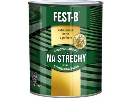 FEST-B S2141, antikorozní nátěr na železo, 0280 hnědý, 5 kg