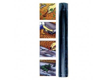 Fólie Garden C3201 1,2x10 m, 0,02 mm, černá