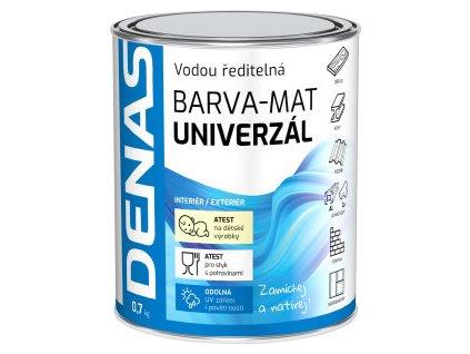 DENAS univerzál mat 0220 světle hnědá  0,7 kg