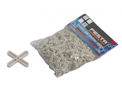 Duté plastové křížky 200ks 4mm FESTA (D)