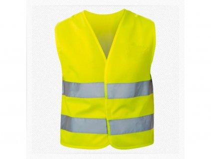 Dětská bezpečnostní vesta pro děti 3-12 let, žlutá