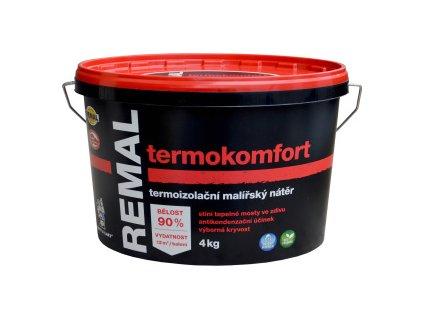 Malířský nátěr 4kg REMAL TERMOKOMFORT