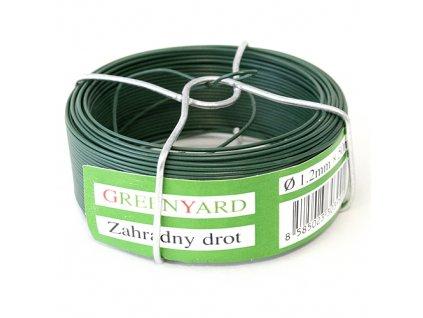 Drát Garden Wire Pvc 0,80 mm, L-75 m, SC
