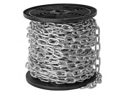 Řetěz 5685 A krátkočlánkový, 4x19mm, 0,300 kg/m / CENA ZA METR