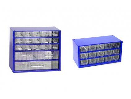 MARS Set skříněk 6760M + 6740M, modrá