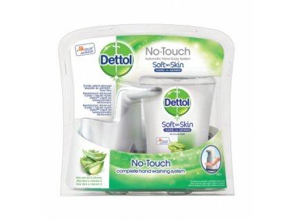 Dettol Aloe Vera bezdotykový dávkovač mýdla + náplň s mýdlem, 250 ml