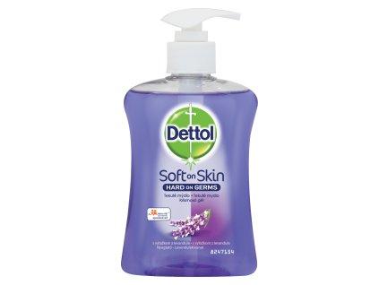 DETTOL  tekuté mýdlo antibakteriální levandule 250ml