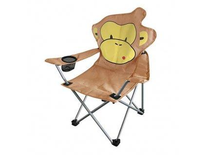 Stolička dětská MONO, 35x35x56 cm, opice