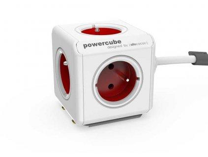 POWERCUBE EXTENDED bílá / červená 1,5 m