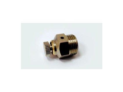 """Odvzdušňovací ventil manuální kovový  1/4"""""""