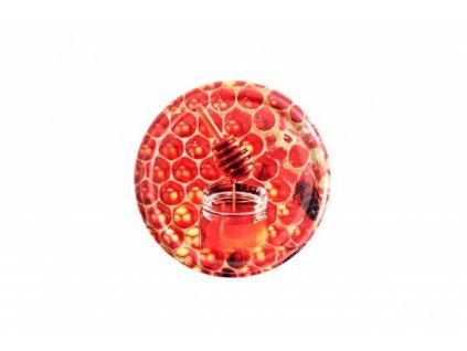 Víčko zavařovací Twist 66, včelí med, 6,6cm