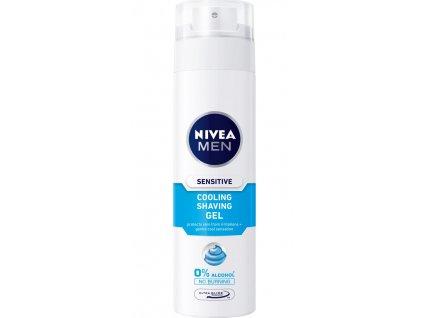 Gel na holení NIVEA men gel na holení sensitive cooling 200ml