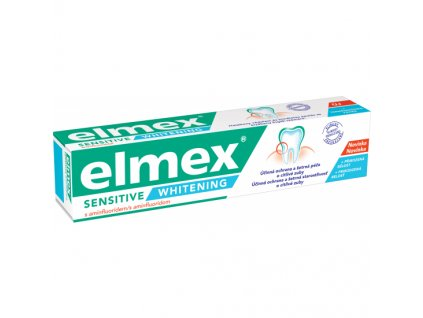 Elmex Sensitive Whitening zubní pasta, 75 ml