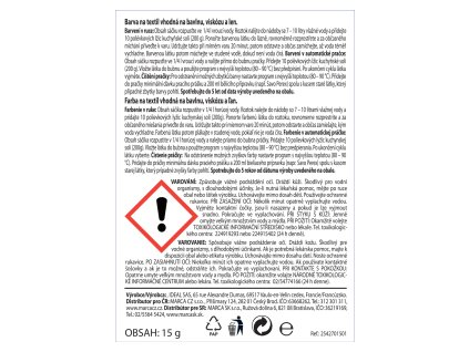 DUHA - barvy na látky č.36 zelená 15g