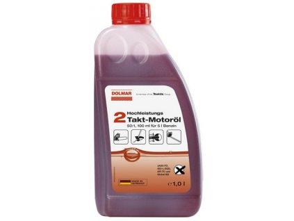DOLMAR Motorový olej dvoutaktní 1:50, 1000ml
