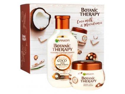 BOTANIC Therapy Coco milk/Makadamie (šampón+maska) Dárková sada pro ženy
