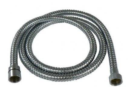 Sprchová hadice kovová-dvojzámková, délka 200cm - chrom