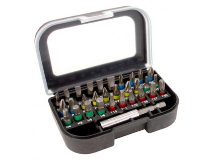Sada bitů 25mm - 30 ks + magnetický držák