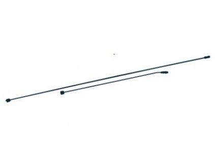 Dvoudílné prodloužení 210 cm s tryskou mosaz/plast pro SANI 5L, 10L, 16L