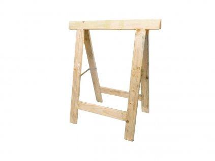 Dřevěná koza 87x75cm, lať 2,0x6,8cm
