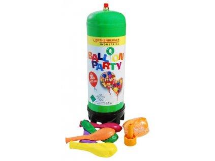 Balloon párty sada, tlaková láhev na balónky - Rothenberger