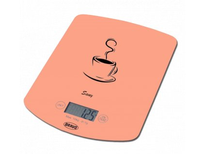 Bravo Kuchyňská váha Sany B-5112, oranžová