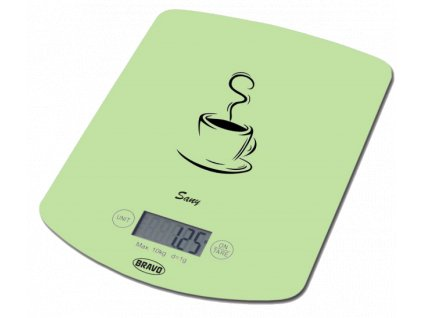 Bravo Kuchyňská váha Sany B-5112, zelená