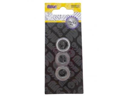 Redukční kroužky k pilovým kotoučům 20mm x 1,2mm