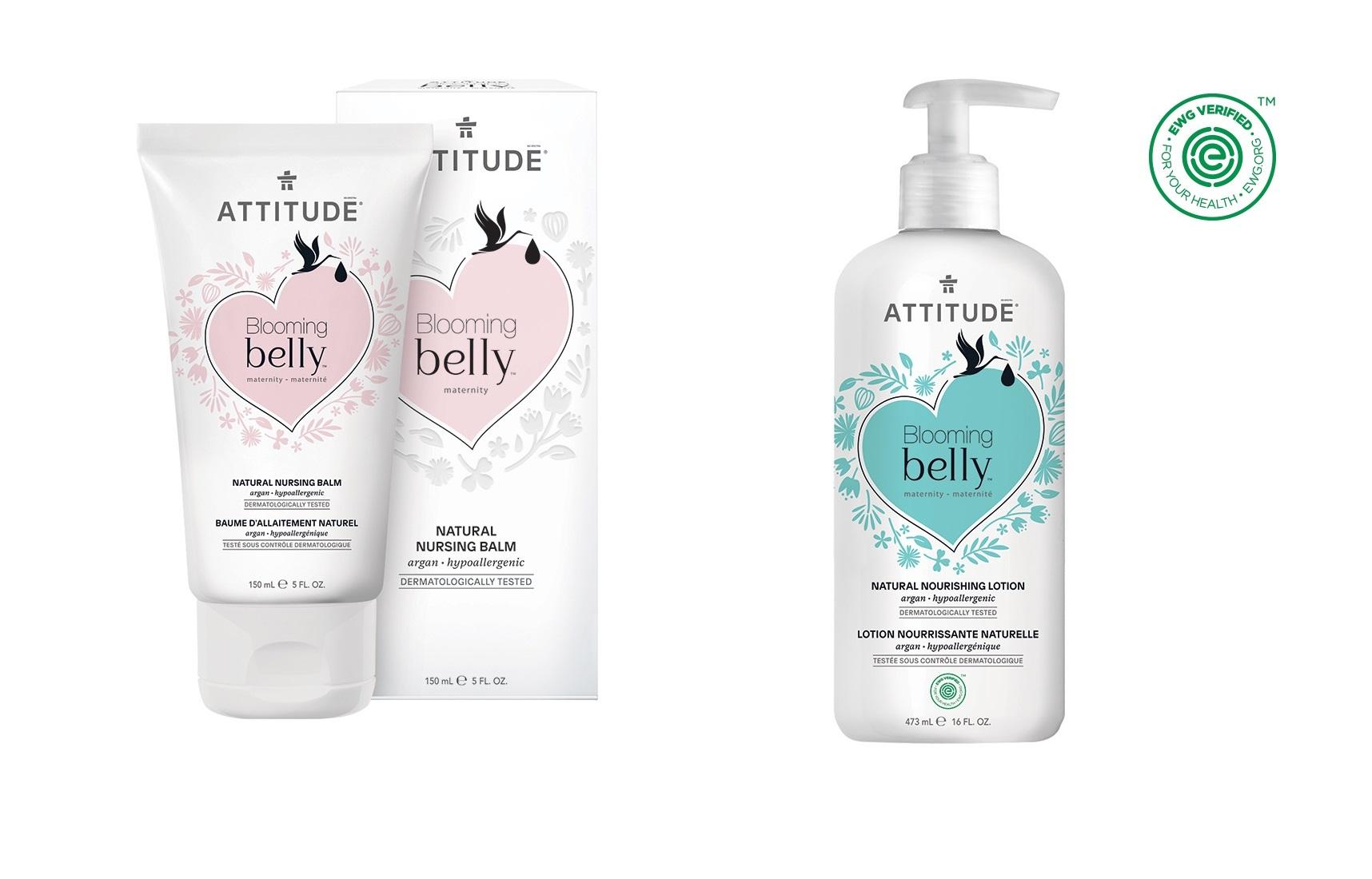 Kosmetika Attitude - řada pro těhotné BLOOMING BELLY