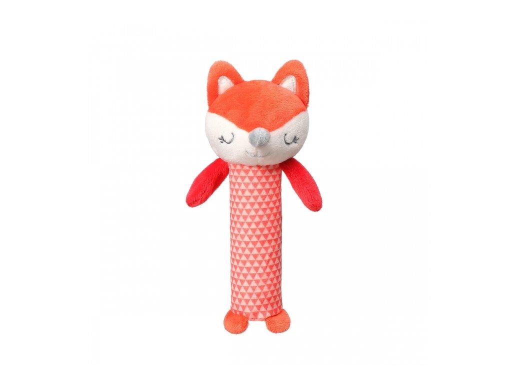 105993 178521 babyono plysova piskaci hracka fox vncent 17 cm