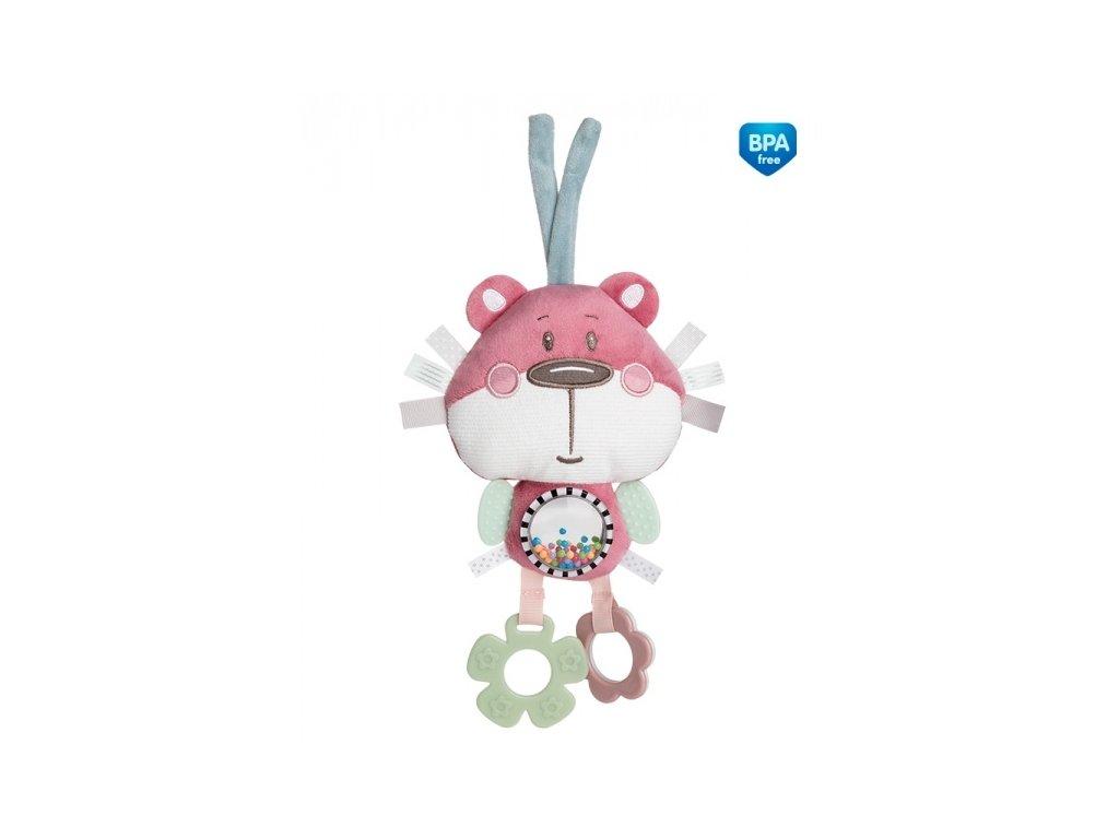 104319 175854 plysova edukacni hracka na zavazovani canpol babies medvidek ruzovy