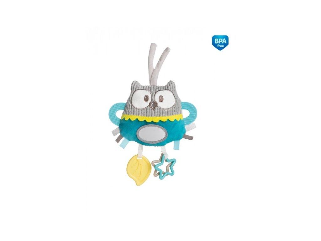 104317 175852 plysova edukacni hracka na zavazovani canpol babies sova tyrkysova