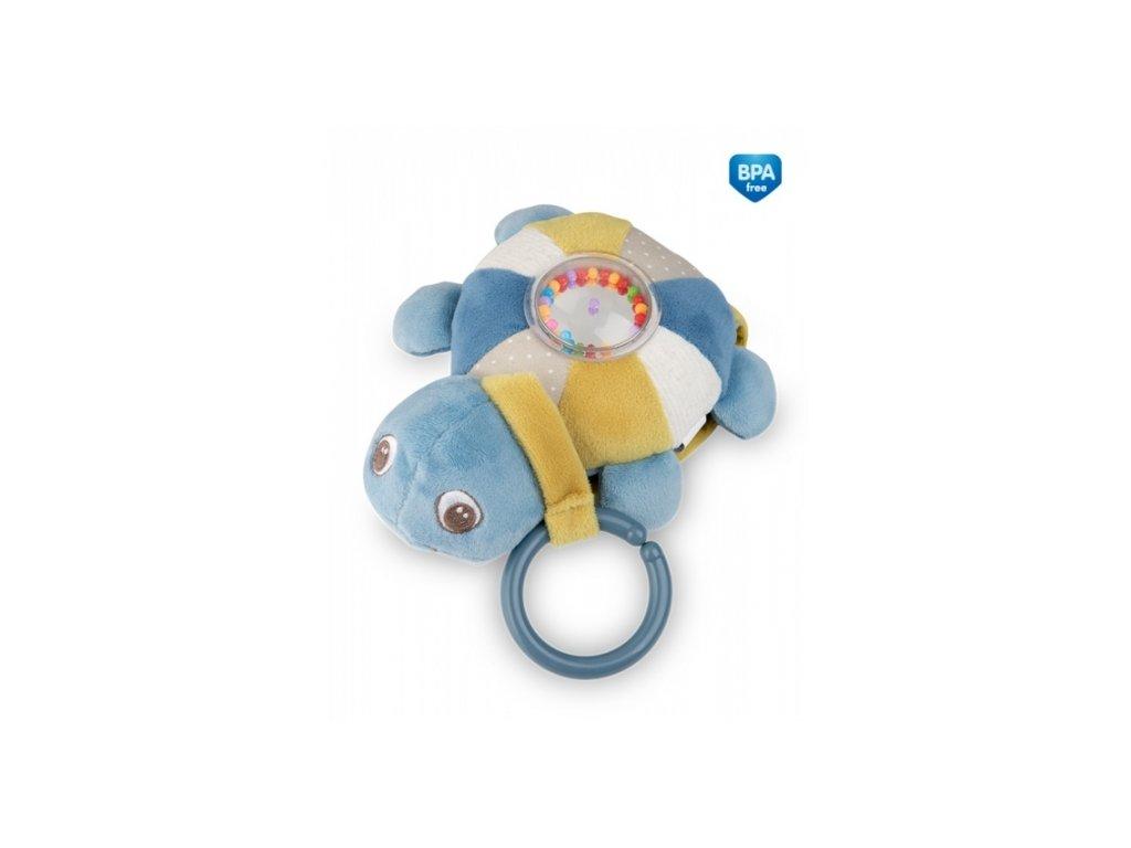 106005 178725 zavesna plysova svitici hracka s melodii a chrastitkem canpol babies zelva modra