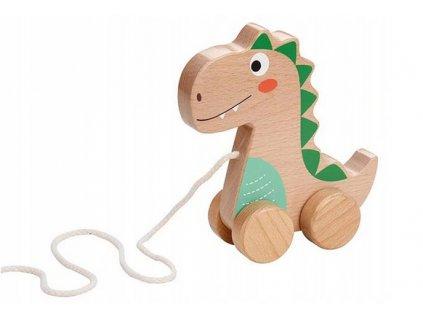 111677 193171 lenin edukacni drevena hracka 15 cm tahaci dinosaurus