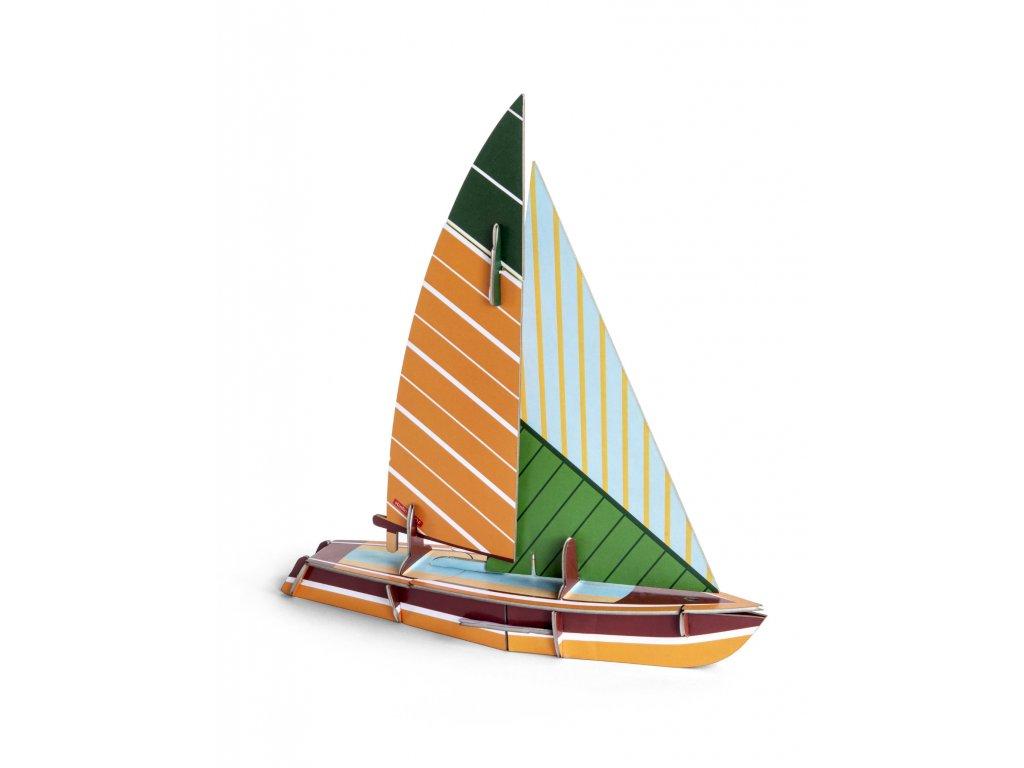 cool classic sailboat