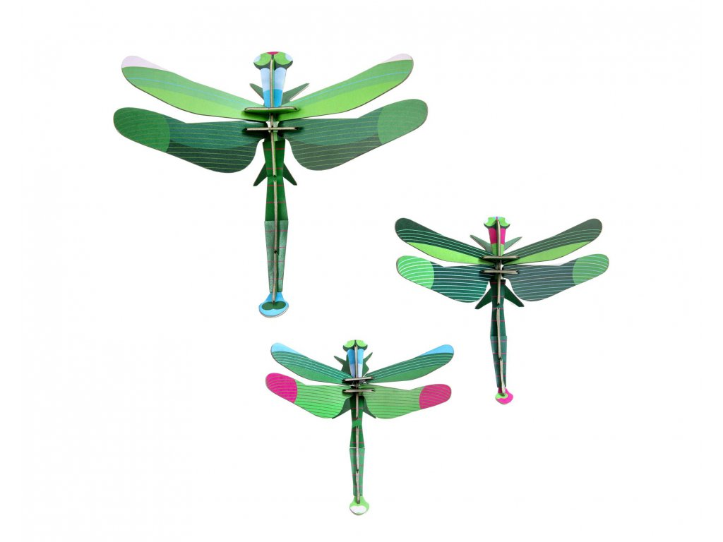 dragonflies, set of 3