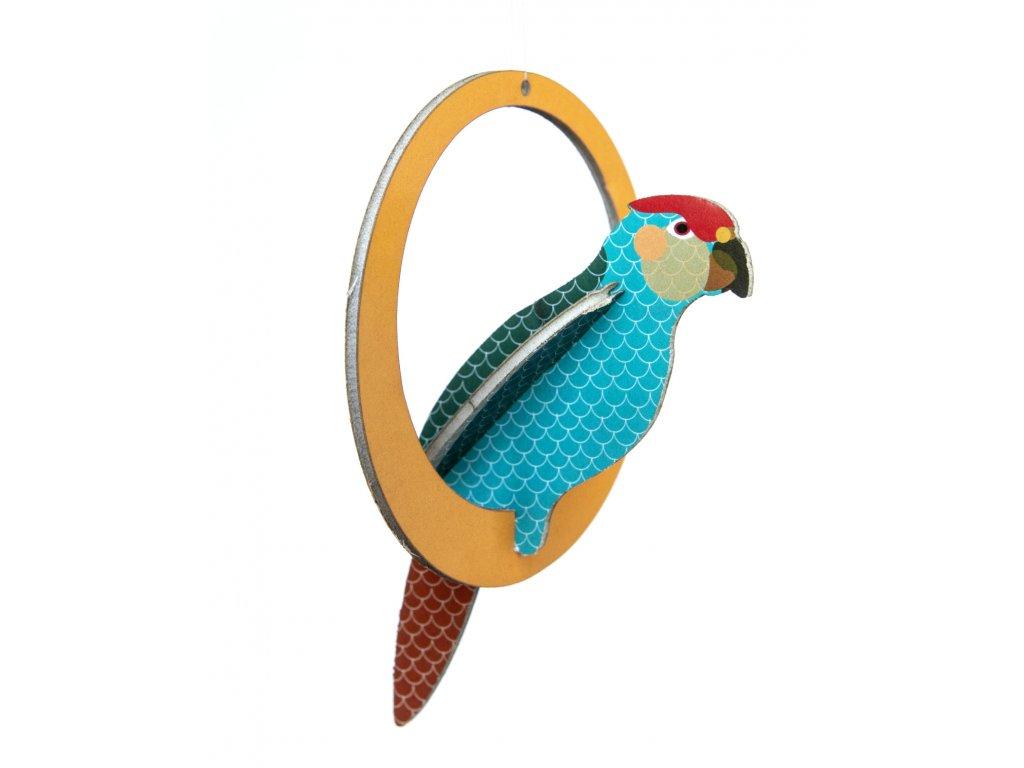 swinging parakeets