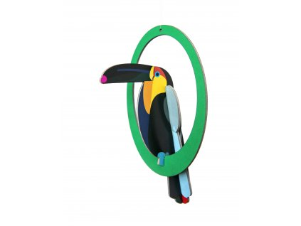 swinging toucan